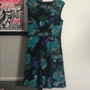 London Style Fit and Flair Dress
